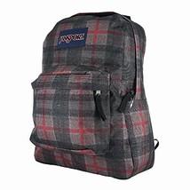 JanSport Superbreak Student Backpack - Red Tape Knit Plaid - $27.35