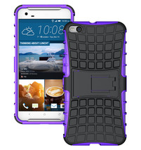 Duty Dual Layer Hybrid Shockproof Protective Cover Case for HTC One X9 - Purple  - $4.99