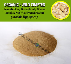 POWDER Peanuts Skin Monkey Ground-nut Goober Cultivated Peanut Arachis H... - $7.85+
