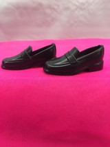 Ken Doll Black Loafers Oxford Dress Shoes Mattel A1 - $4.15