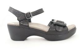 VINTAGE Dansko Sue wedges  Sandals  Black Women's  40 Right , 41 Left () - $65.10