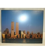 "World Trade Center Picture – Wall Hanging 20"" x 15-7/8"" - Used - $16.82"