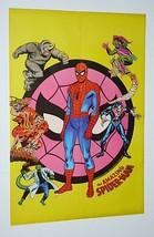 1970's Marvel Comics 22 1/2 x 15.5 Spider-man poster:Green Goblin/Morbius/Romita - $69.39