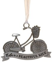 Life ie Beautiful Inspirational Zinc Ornament by Ganz- Life is A Beautif... - $143,87 MXN