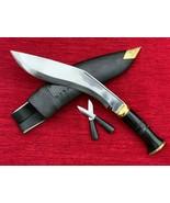 """GENUINE BRITISH GURKHA HORN HANDLE KHUKURI KHUKRI KUKRI KNIFE SERVICE N.1-10.5 """" - $64.35"""