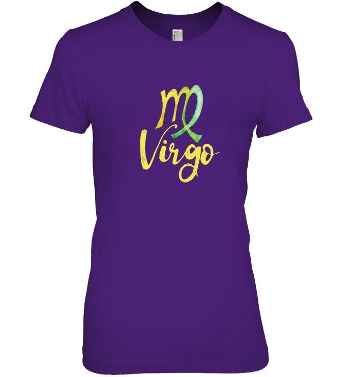 Virgo t shirt virgo the virgin symbol tee shirt birthday