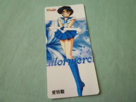 Sailor moon bookmark card sailormoon  anime mercury - $6.00