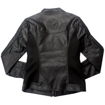 Star Wars Phantom Menace Darth Maul Ray Park Costume Evil Vader Leather Jacket image 2