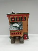 Dept 56 North Pole Series Elves Trade School Original Box Christmas VIllage - $22.90