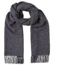 Diesel Unisex S-Casenti 00SKTW Wool Scarf Grey - $149.49