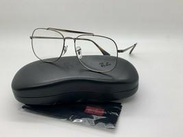 Ray-Ban ORX6389 2531 BROWN Eyeglasses Frames 57-16-145MM - $77.57