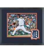 Matt Boyd 2018 Detroit Tigers Action-11x14 Team Logo Matted/Framed Photo - $43.55
