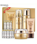 BIOAQUA SNAIL Repair Skin Cream Serum Lotion Toner Glow Wonderful 6PCS Set - $32.29