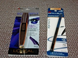 Loreal Infallible Eyeliner 516 & Voluminous Butterfly Sculpt 874 Lot Of 2 Boxed - $11.11