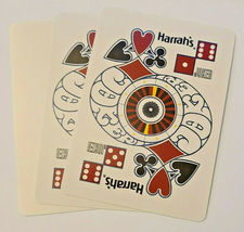 Harrah's St Louis Casino Playing Cards by GEMACO USA Blue Casino-used  (002) image 6