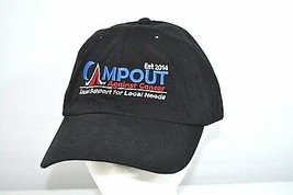 Campout Against Cancer Black Baseball Cap Doug Murray Aloha Golf Tournam... - $16.99