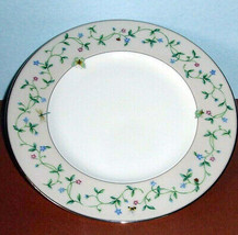 "Lenox IDALIA Accent Luncheon Plate 9.25"" Floral Butterfly Design 1st Quality New - $42.90"