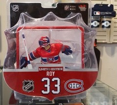 "2017-18 NHL Montreal Canadiens Patrick Roy 6"" Figure with Net by Imports... - $38.80"