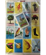 JUMBO Authentic Mexican Loteria Bingo Chalupa Game 10 Boards + 1 Deck 54... - $14.95