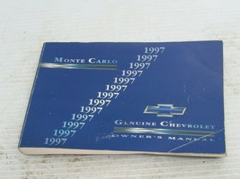 1997 Chevrolet Monte Carlo Owners Manual - $11.87