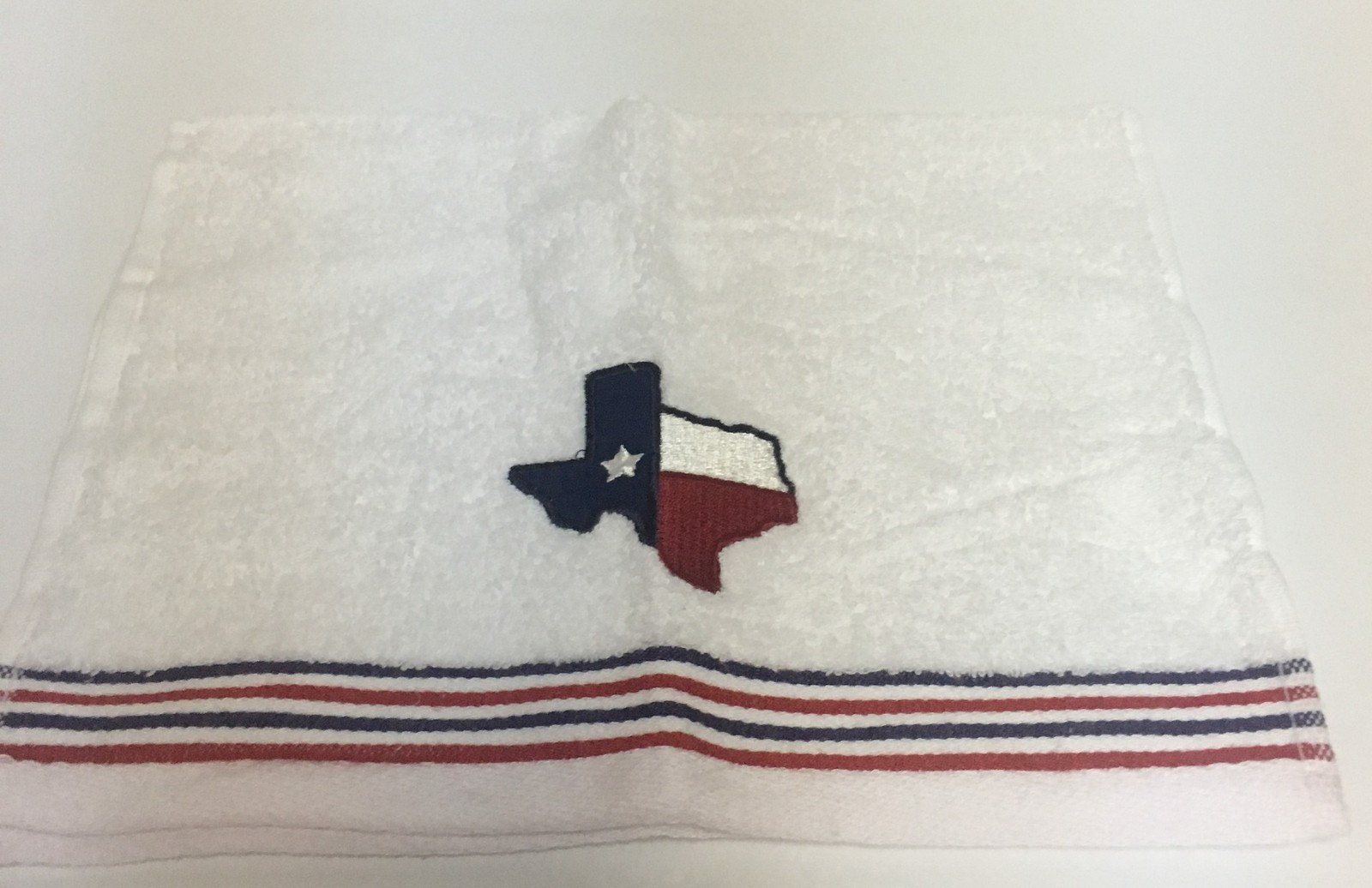 "Texas Lone Star State Tip Towel 18"" x 11"" 100% Cotton Soft Plush Set of 2"