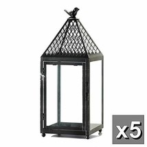 """5 Large 19"""" Tall Bird cage Candle Holder Lantern Lamp Wedding Table cent... - $174.63"""