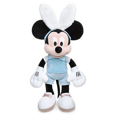 Disney Store Parks Authentic Easter Mickey Mouse Plush Bunny