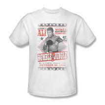 Muhammad Ali T-shirt Rumble Jungle 1970s boxing distressed cotton tee Ali125 image 4