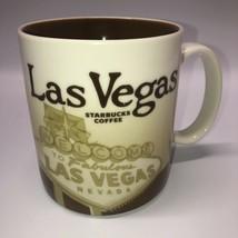 Starbucks Global Icon 2011 Las Vegas Mug 16 Oz Brown Beige - $14.84