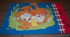VINTAGE Walt Disney 101 Dalmatians PILLOW CASE Pillowcase - $14.85