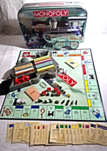 Monopoly's Collectors Edition Game-2003-Reading Railroad--Embossed Train... - $21.99