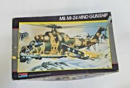 Monogram Mil MI-24 Hind Gunship Helicopter 1/48 Scale Model Kit 5819 Unbuilt - $29.70