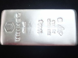 Unimet 1000g / 1 Kilo Fein Silber Ag 999.0 Cast Verbindung - $2,133.41