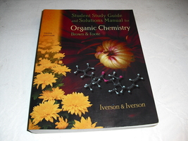 organic  chemestry  student study  guide - $1.99