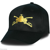 ARMY ARMOR EMBROIDERED MILITARY BLACK  HAT CAP - $33.38