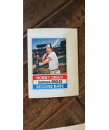1976 HOSTESS TWINKIES FULL UNCUT CARD BOBBY BOB GRICH ORIOLES ANGELS # 13 - $7.99