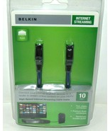 Belkin 10' High-Speed Internet Streaming CAT6 Cable Brand New Sealed! FA... - $4.95