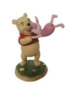 Winnie Pooh Friends Figurine vtg Disney classic porcelain Piglet 100 Acre Wood - $72.57