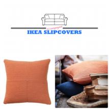 Two (2x) IKEA Sotholmen Pillow Cover Indoor/Outdoor Orange 20x20 - 903.9... - $43.08