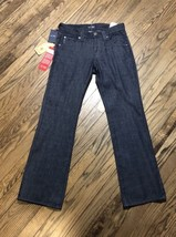 NWT Armani Jeans Mens Regular Fit J05 Dark Wash Bootcut Denim Jeans Size... - $63.79