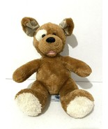 "Build a Bear Puppy Dog Plush 14"" Brown Floppy Eared Blep Stuffed Animal ... - $18.70"
