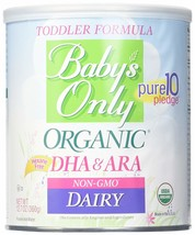Baby's Only Organic Dairy Toddler Formula wuth DHA & ARA, 12.7 oz Pack of 6 - $134.03