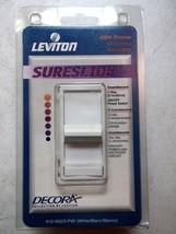 Leviton Decora  SureSlide 600W Light Dimmer 3 Way White 612-6623 - $11.56