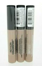 Revlon ColorStay Full Coverage Concealer Lot of 3 #027 Biscuit Sealed - $15.99