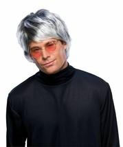 Rubies Dark Grey Pop Star Mod 60s 70s Wig Halloween Costume Accessory 50588 - £10.04 GBP