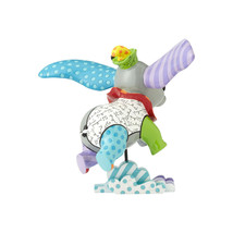 """7.25"""" High Disney Britto Dumbo Figurine Multicolor Hand Painted image 2"""