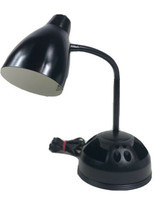 Vintage Portable Luminaire Gooseneck Organizer Desk Lamp Accessory Holde... - $19.79