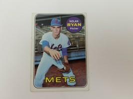 1969 Topps Nolan Ryan Baseball Card #533 Vg-Ex No Creases Mets HOF 2nd Year - $82.23