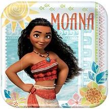 "BirthdayExpress American Greetings Moana 9"" Square Plate (24) - $15.79"