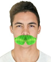 Moustaches   Green M-1049 - £13.37 GBP
